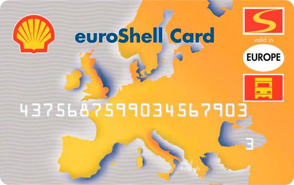 euroShell-dieselkortti