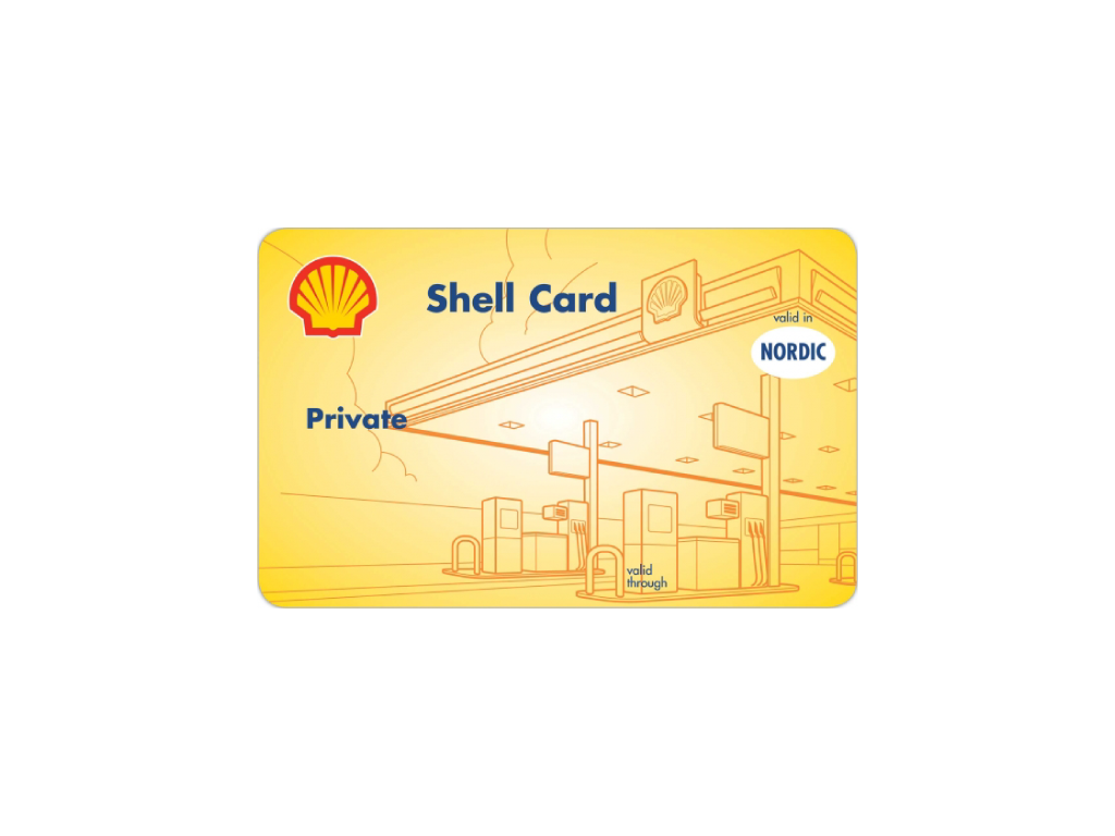 shell card private