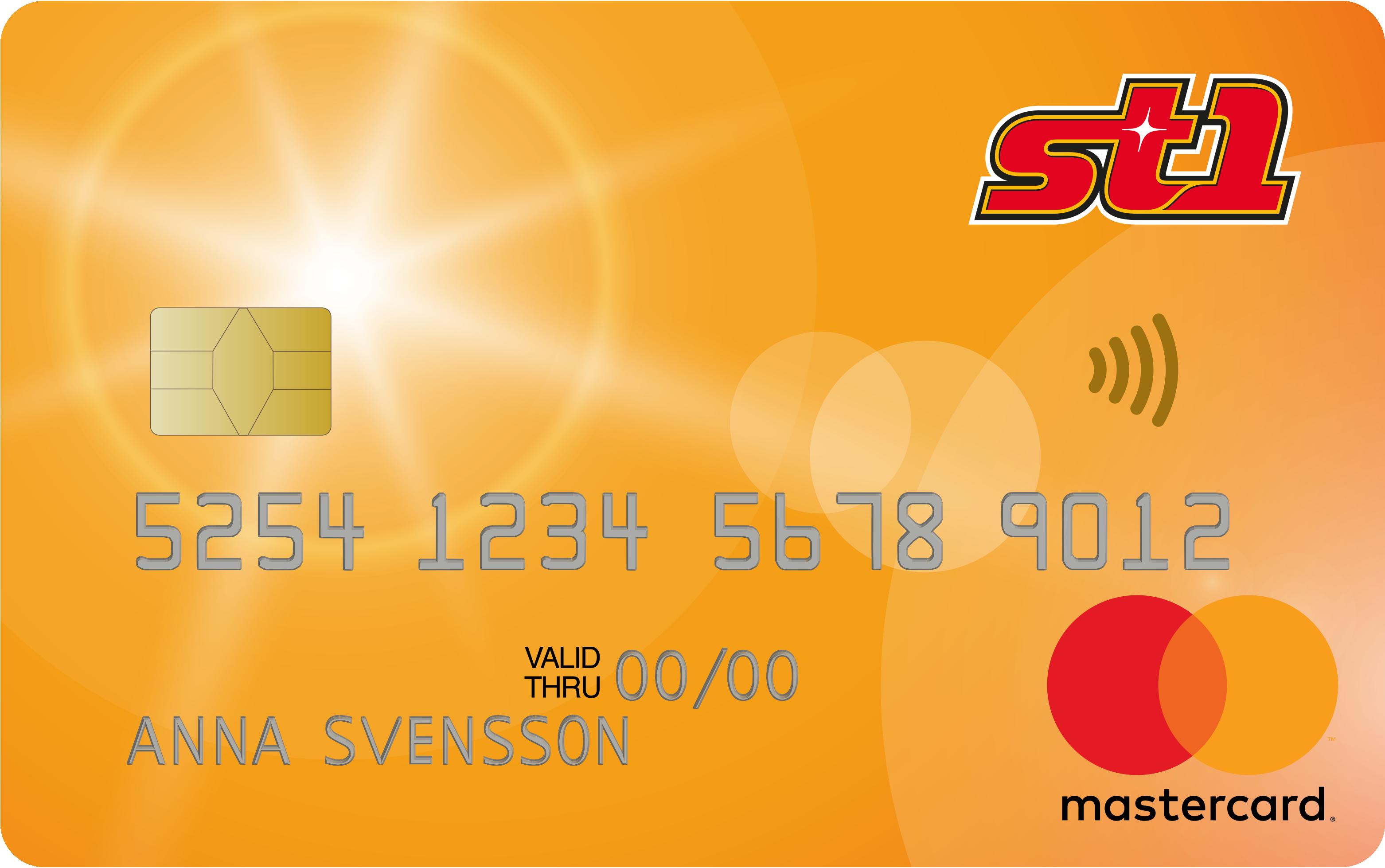 St1 Mastercard