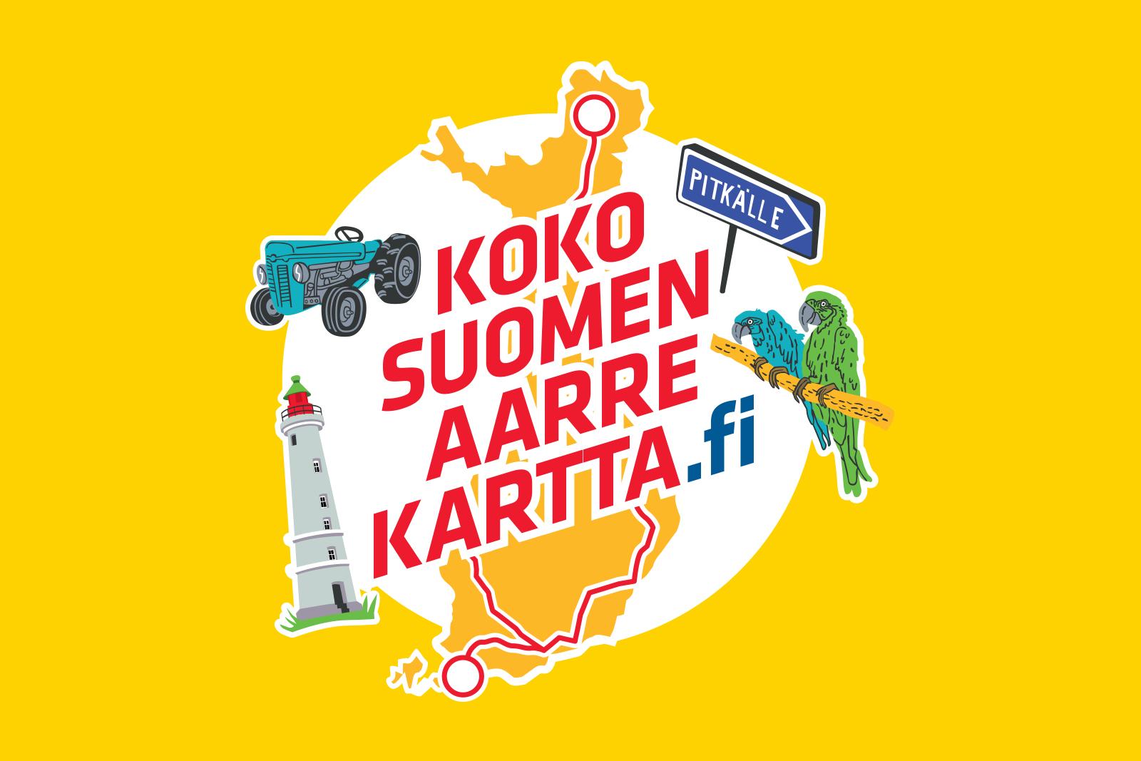 Koko Suomen aarrekartta