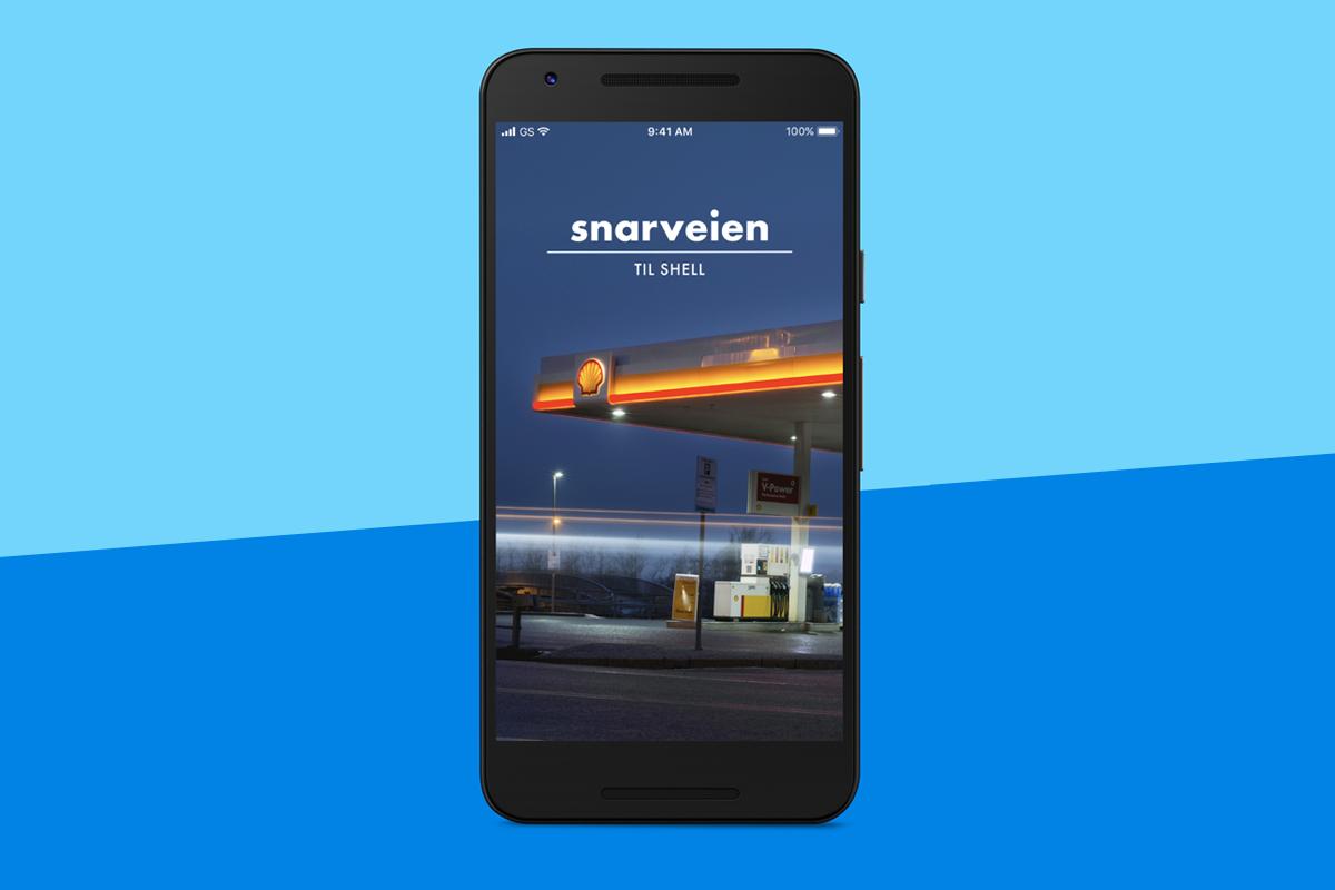 Snarveien App bilde