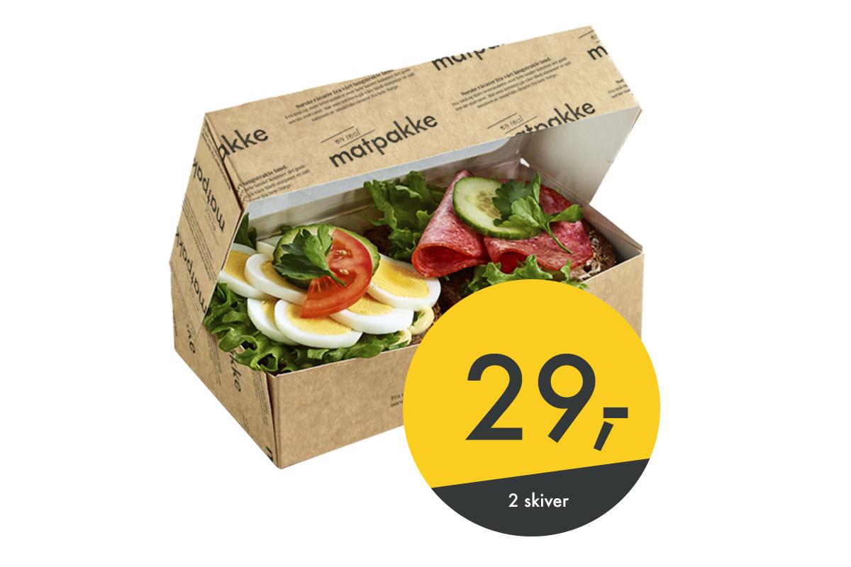 real matpakke til 29 kr