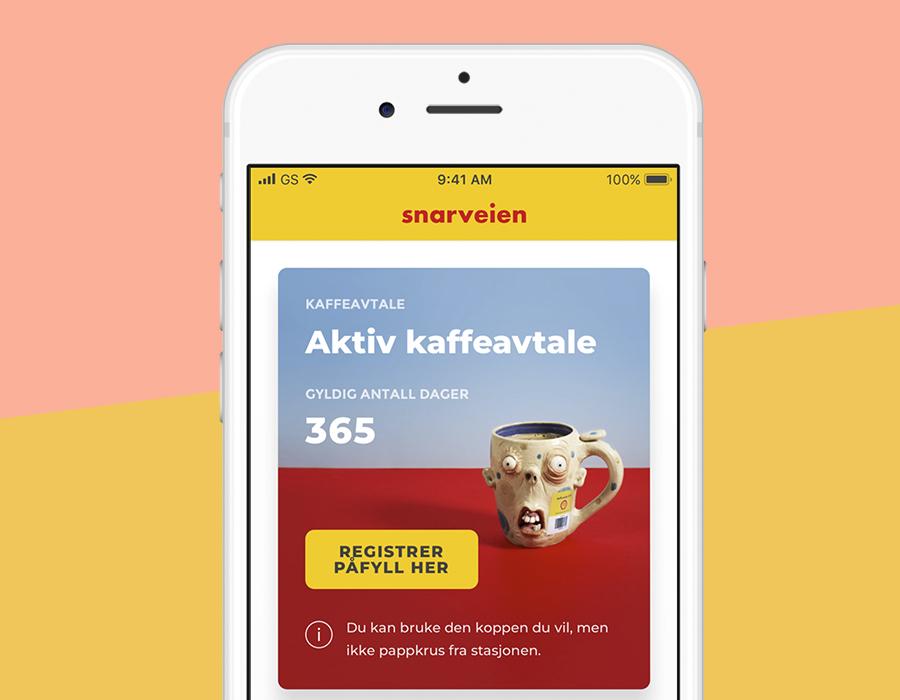 Digital kaffeavtale