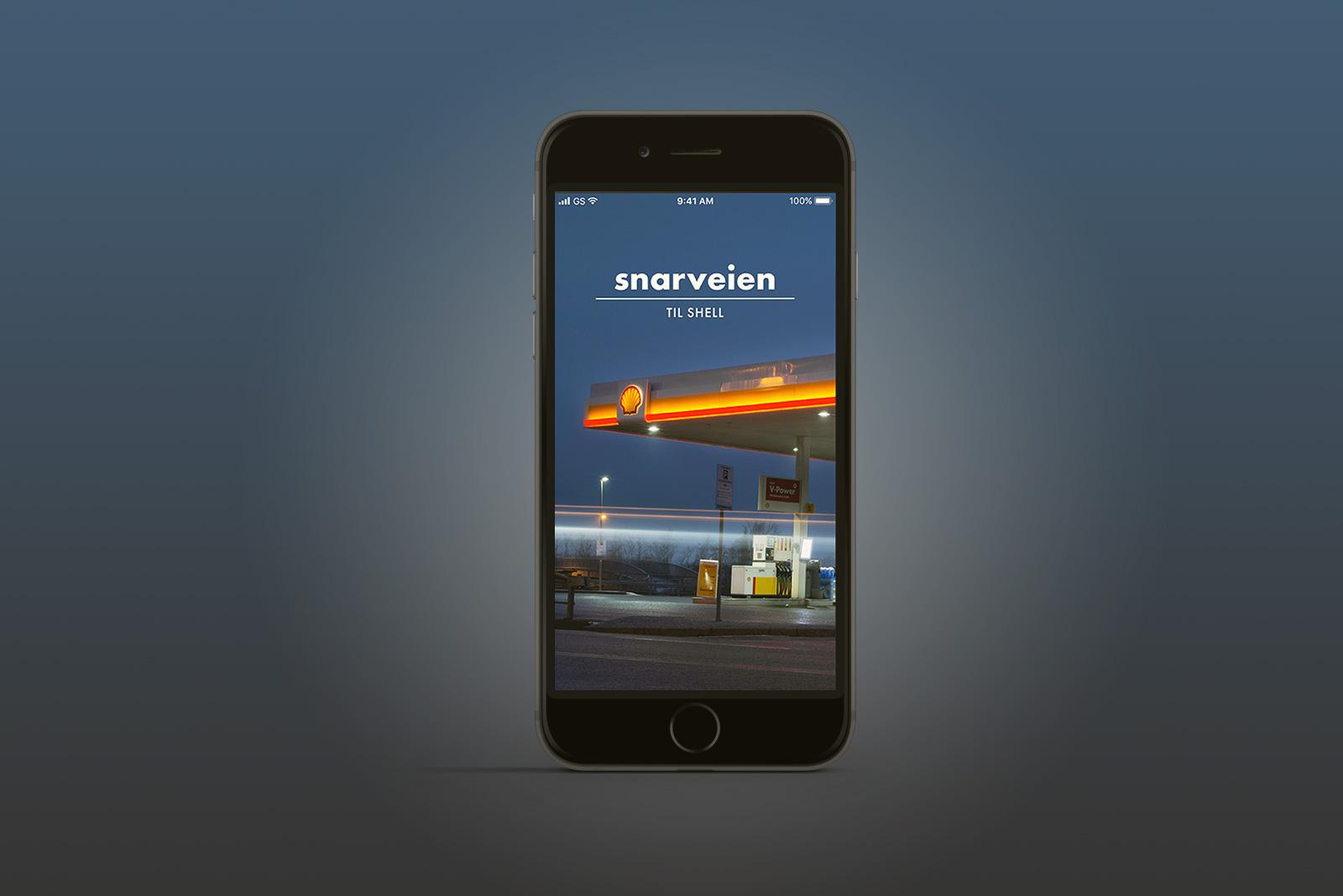 Snarveien til Shell app