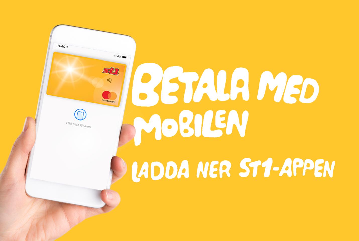 betala med mobilen