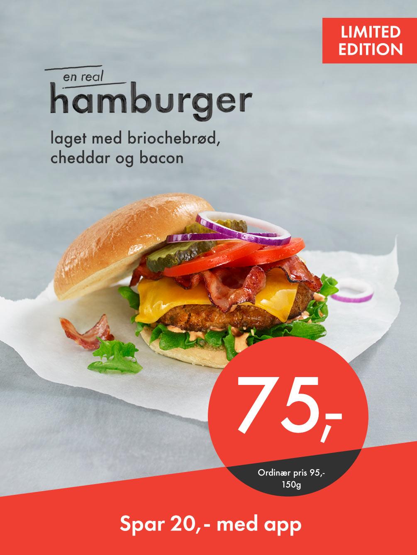 Real Hamburger Limited Edition