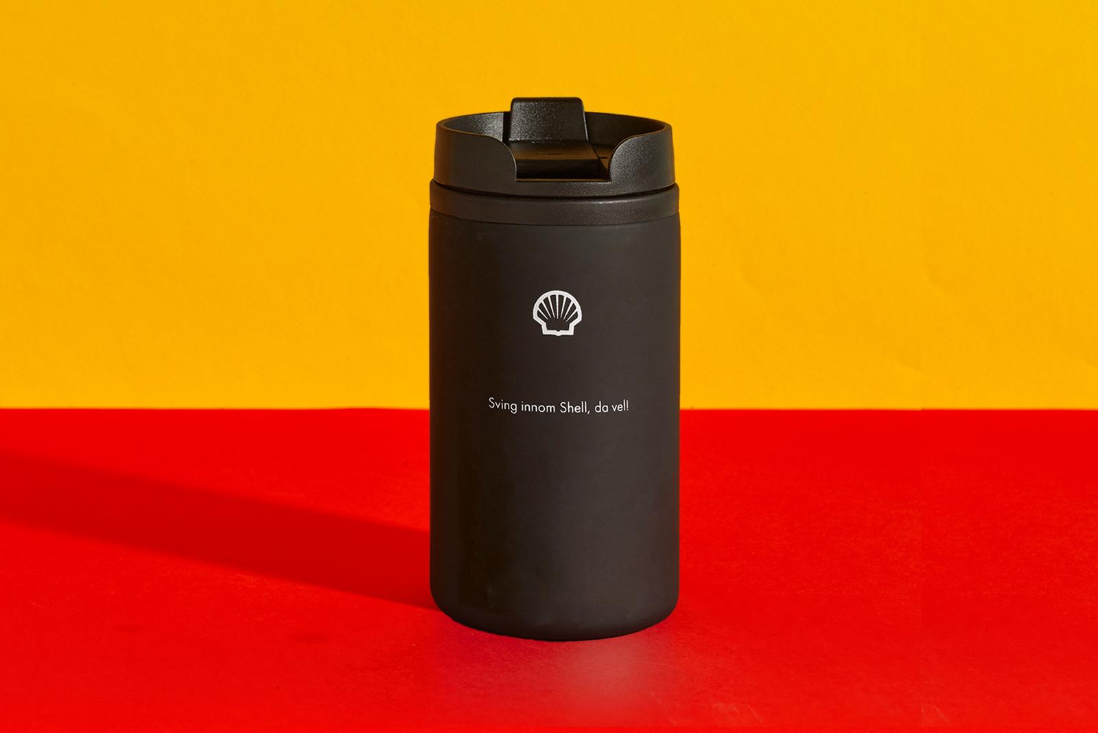Kaffekopp fra Shell