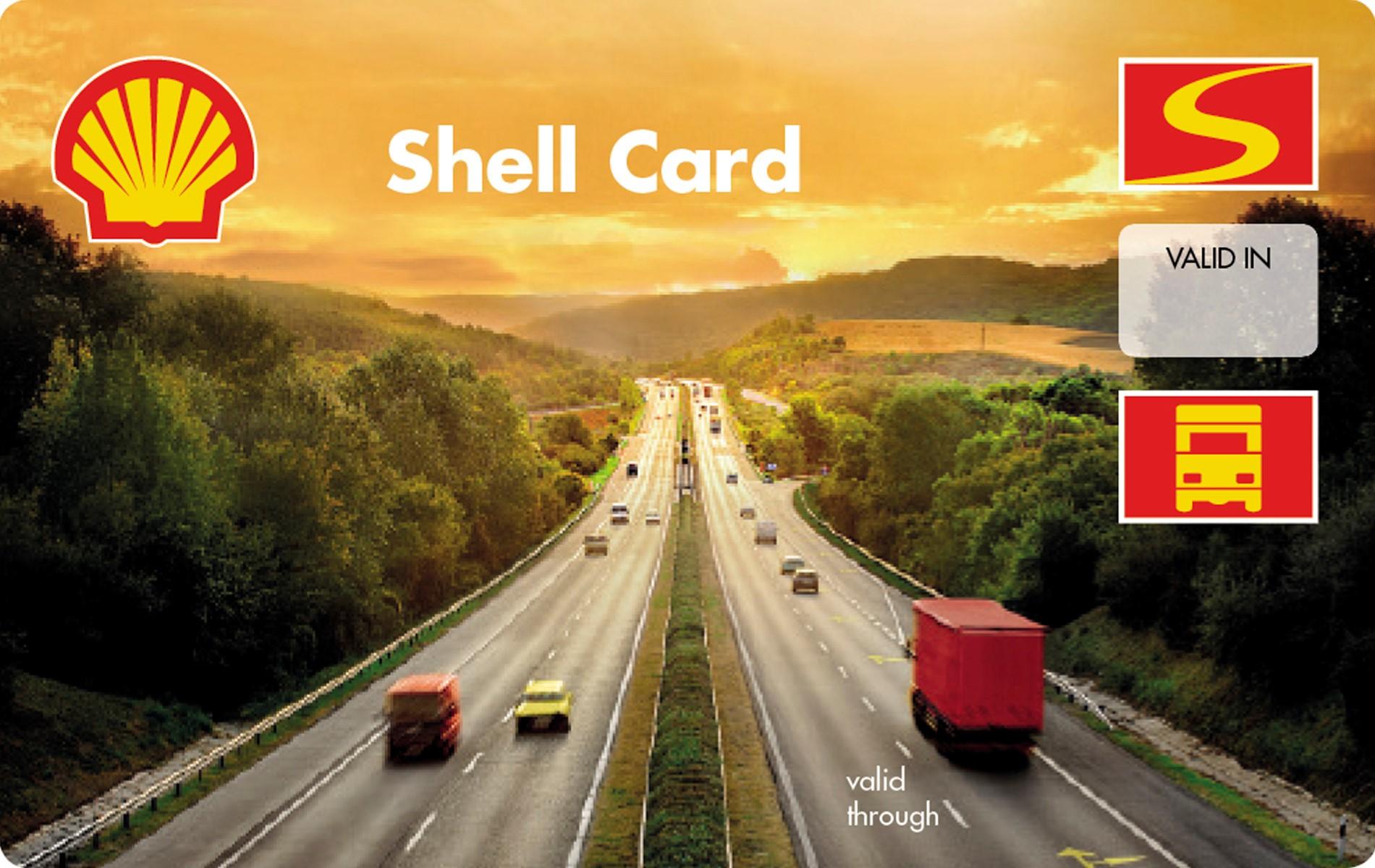 Shell Card dieselkortti