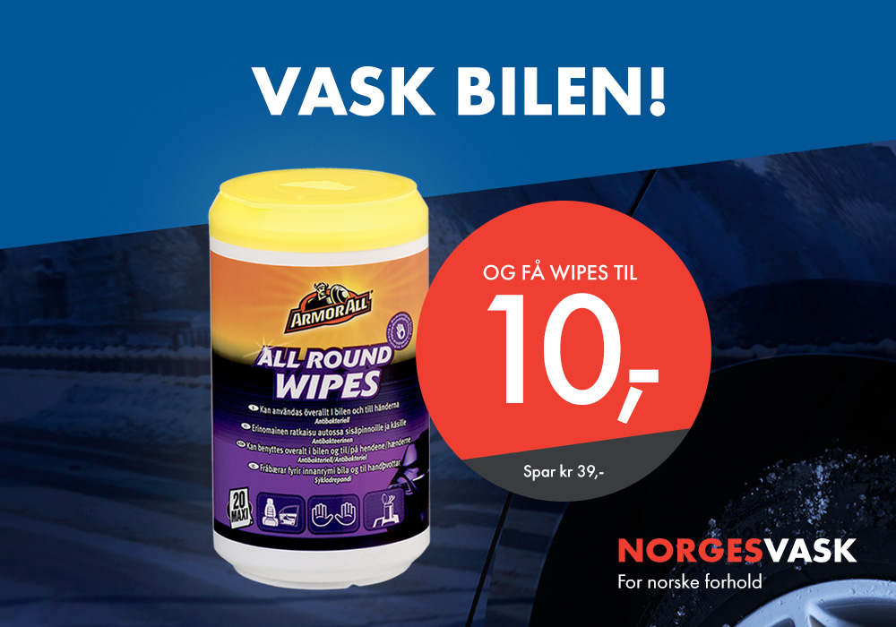 All Round Wipes 10,-