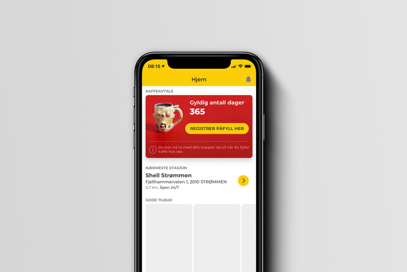 Kaffeavtale på mobil 2020