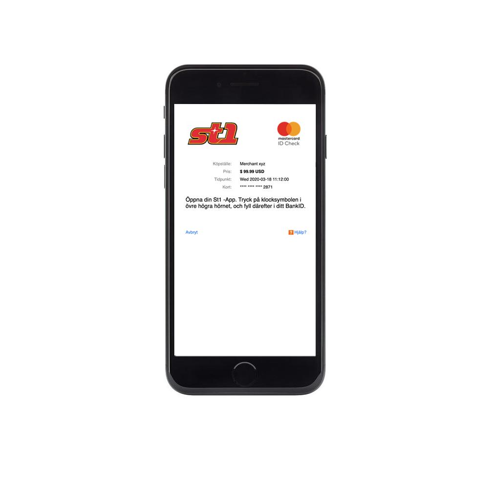 Använd Mastercard Identity Check så här
