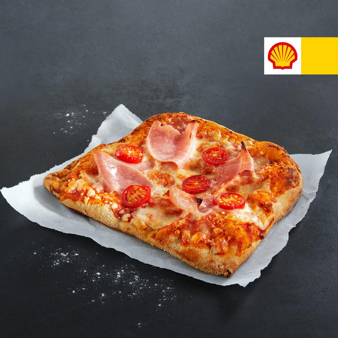 Pizza Romana, Ost/Skinke