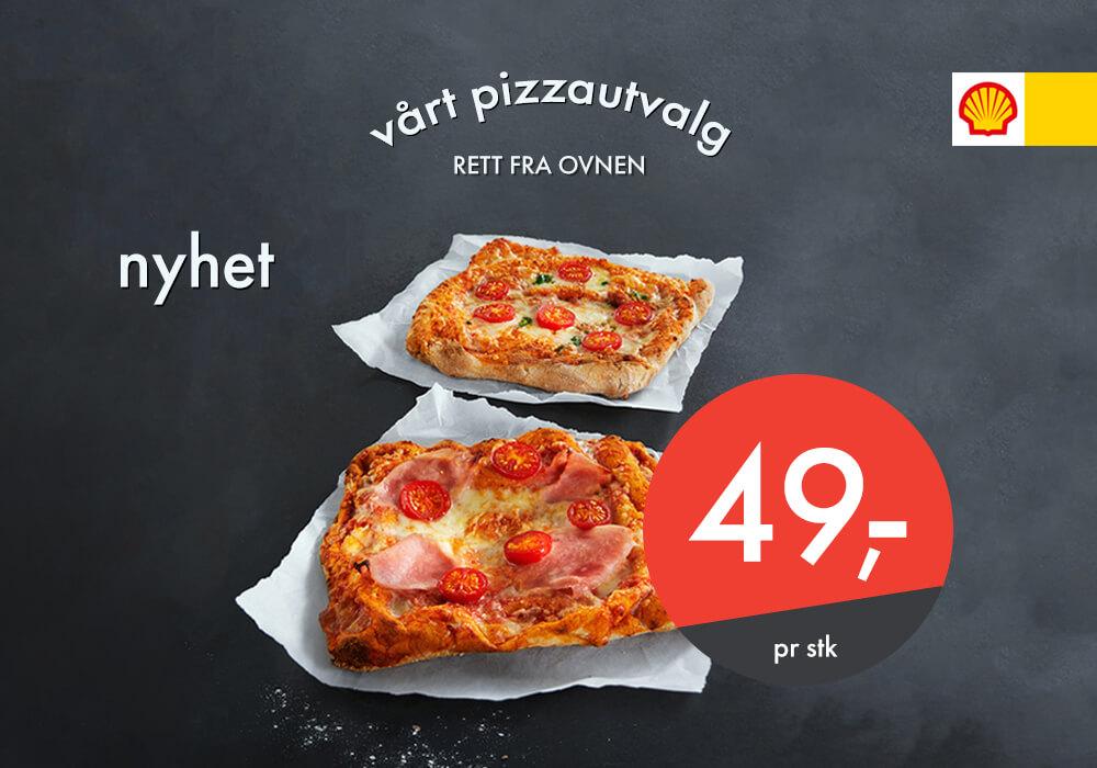 NYHET: Pizza Romana til 49,-