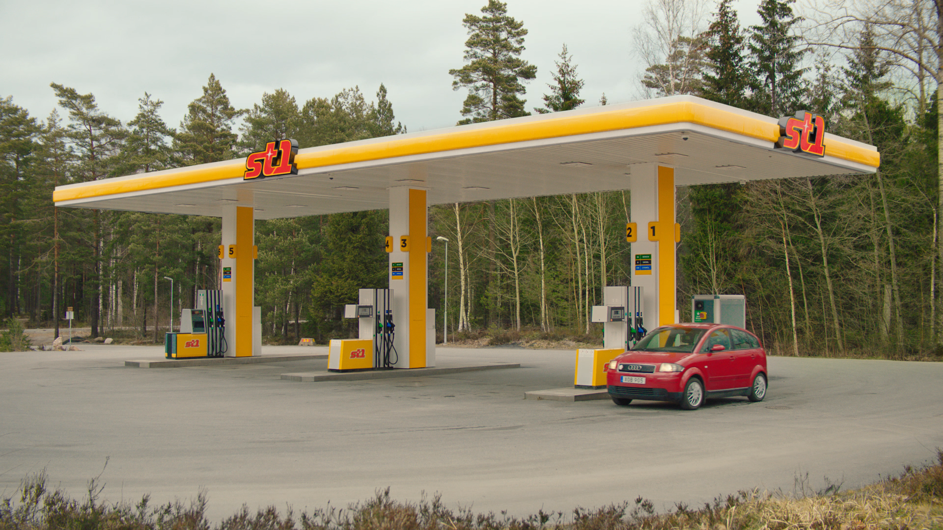 bensinstation