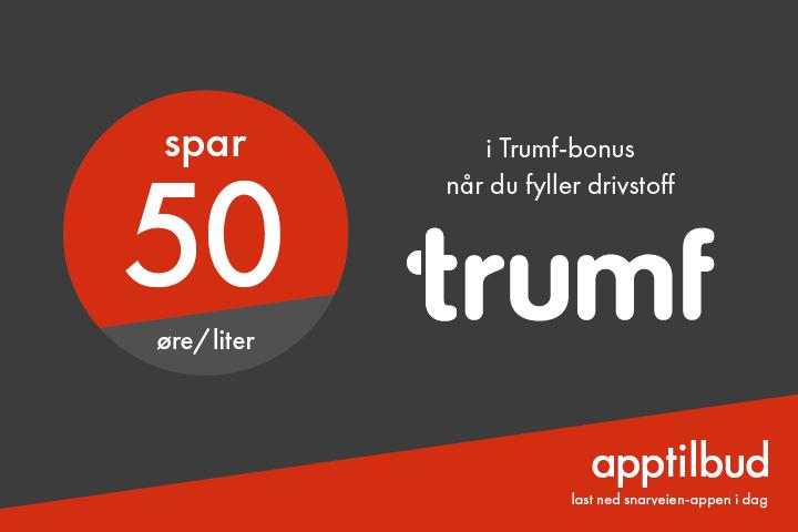 Trumf 50 øre/l