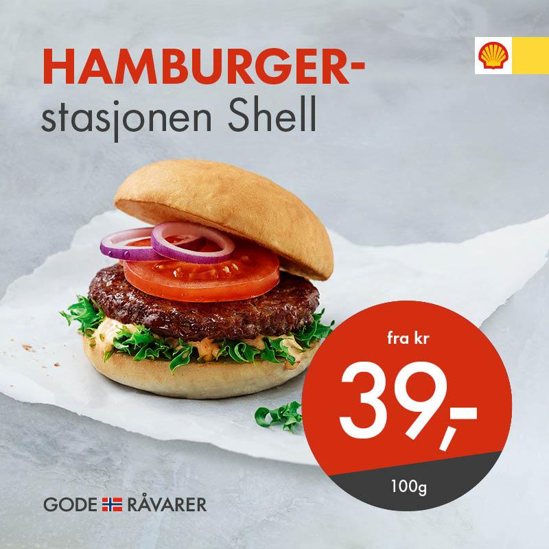 Hamburgerstasjonen Shell