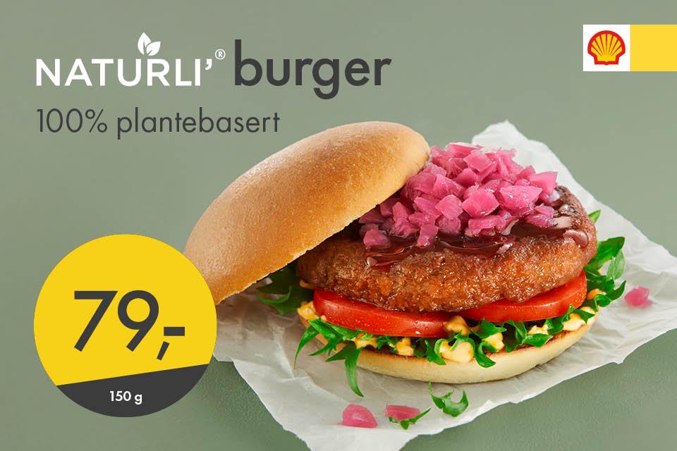 Naturli burger