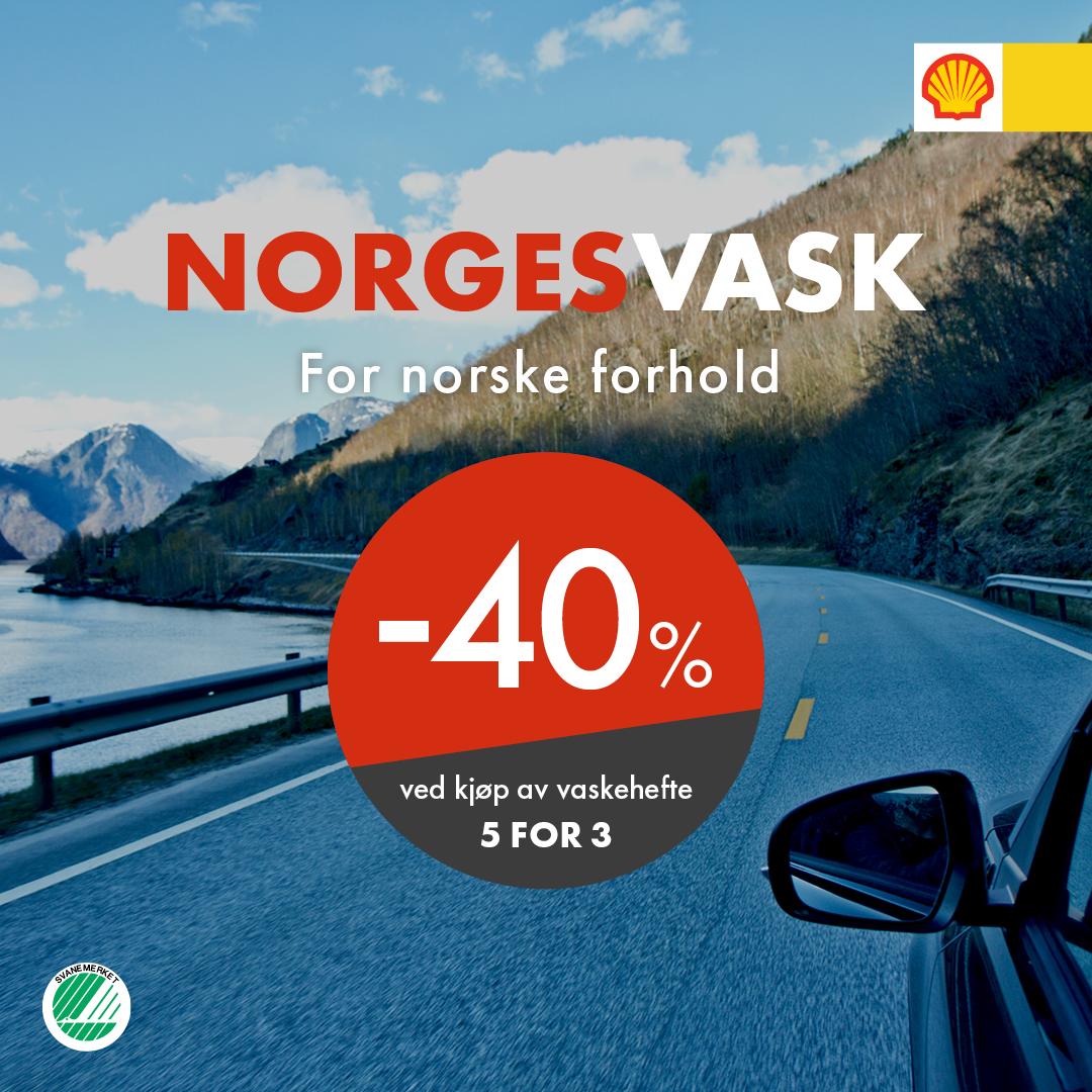 Norgesvask - bilvask for norske forhold