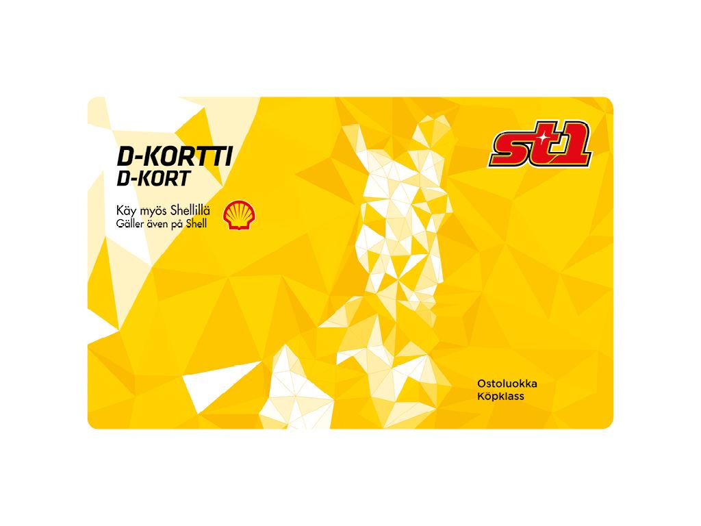 st1 d-kortti