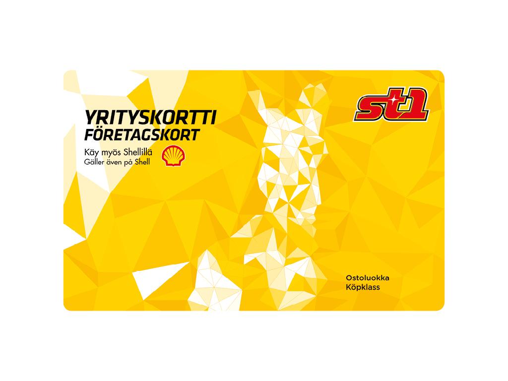 St1 Yrityskortti