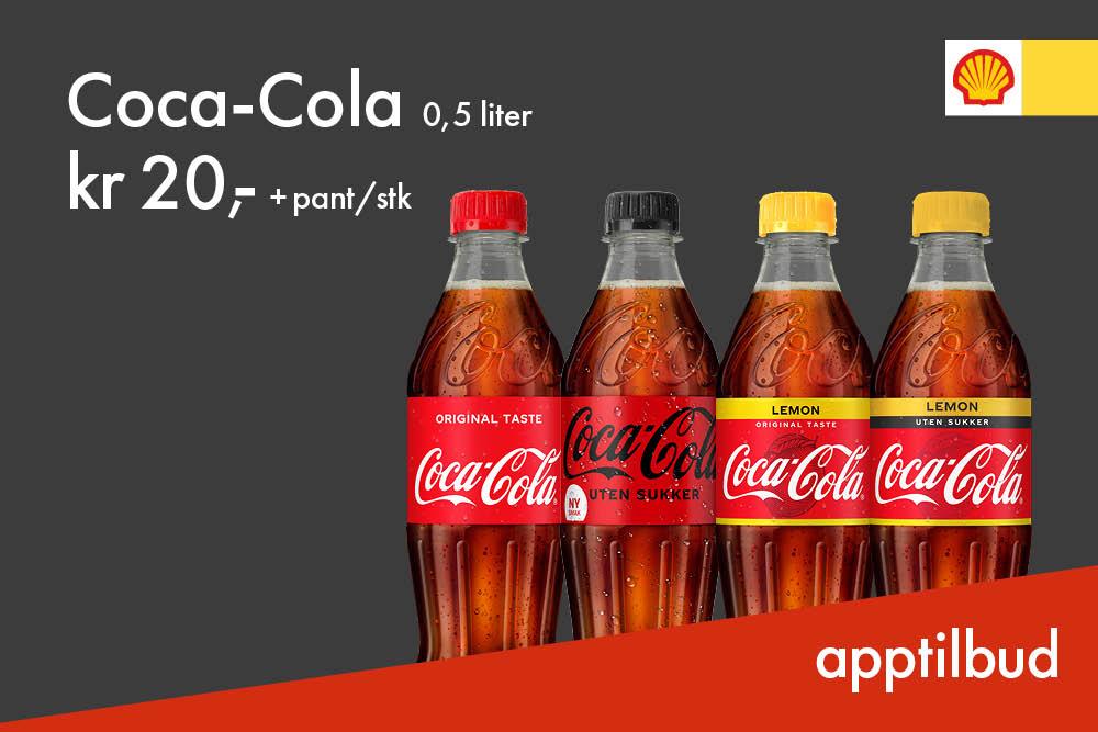 Coca-Cola 20kr + pant
