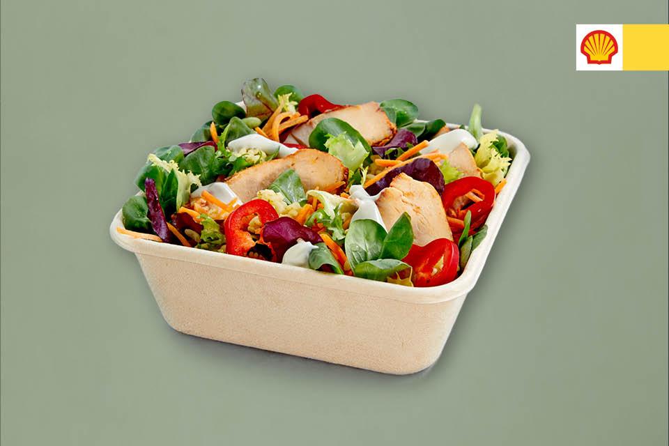Salat med kylling