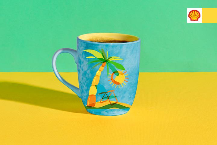 Kaffeavtale på mobil