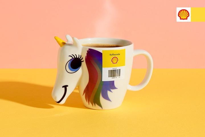 Kaffeavtale på kopp