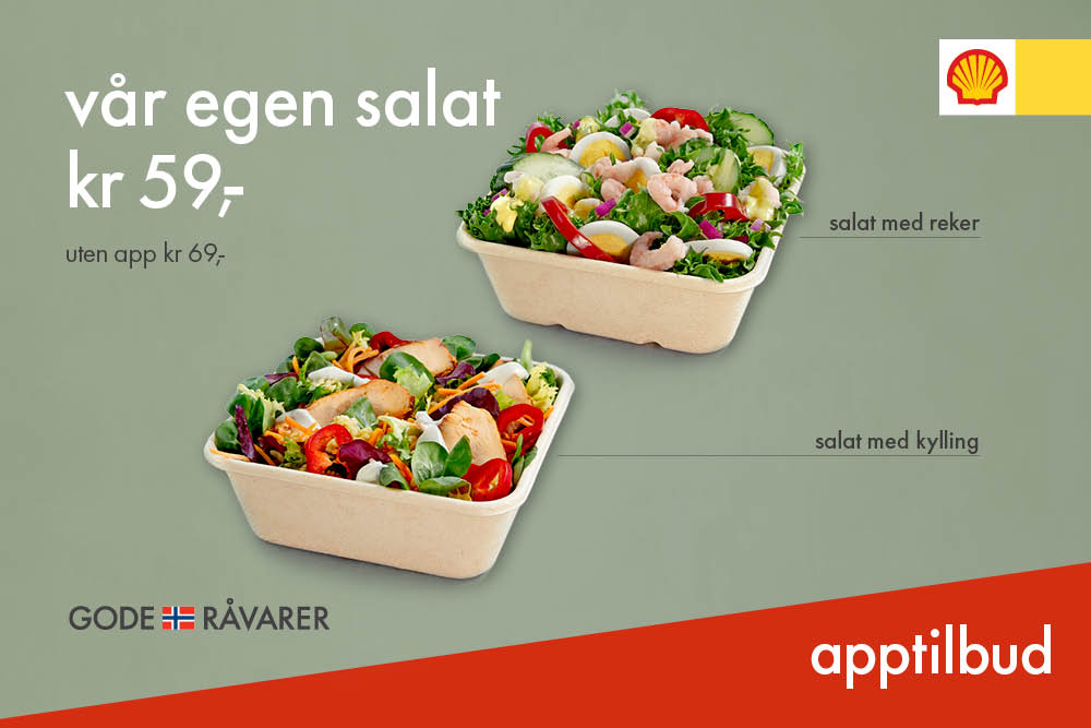 vår egen salat