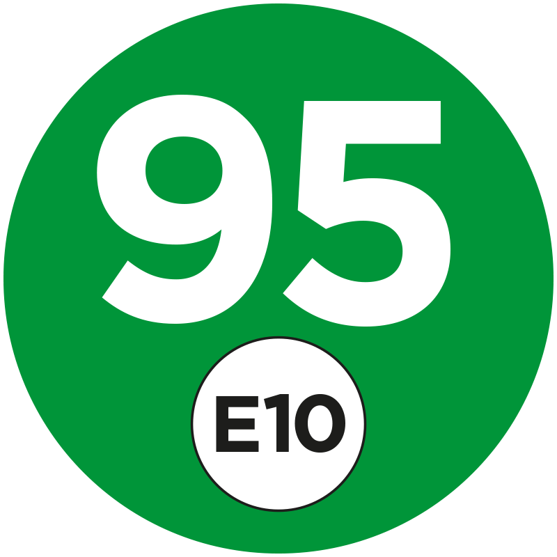 Bensin 95 blir E10