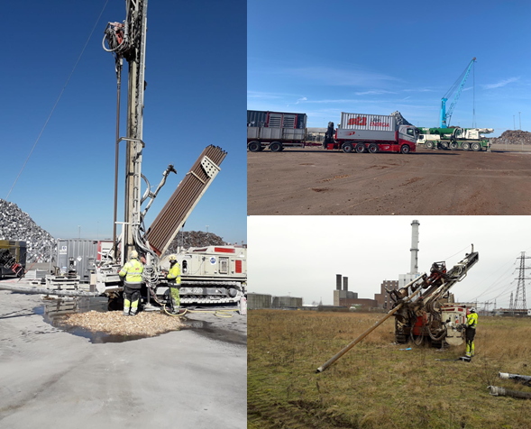 St1 Local energy completing Malmö drilling